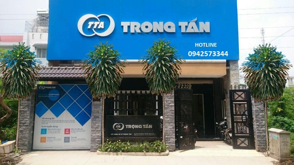 Trụ sở công ty Trọng Tấn cho thuê xe tải chở hàng đi Hà Nội