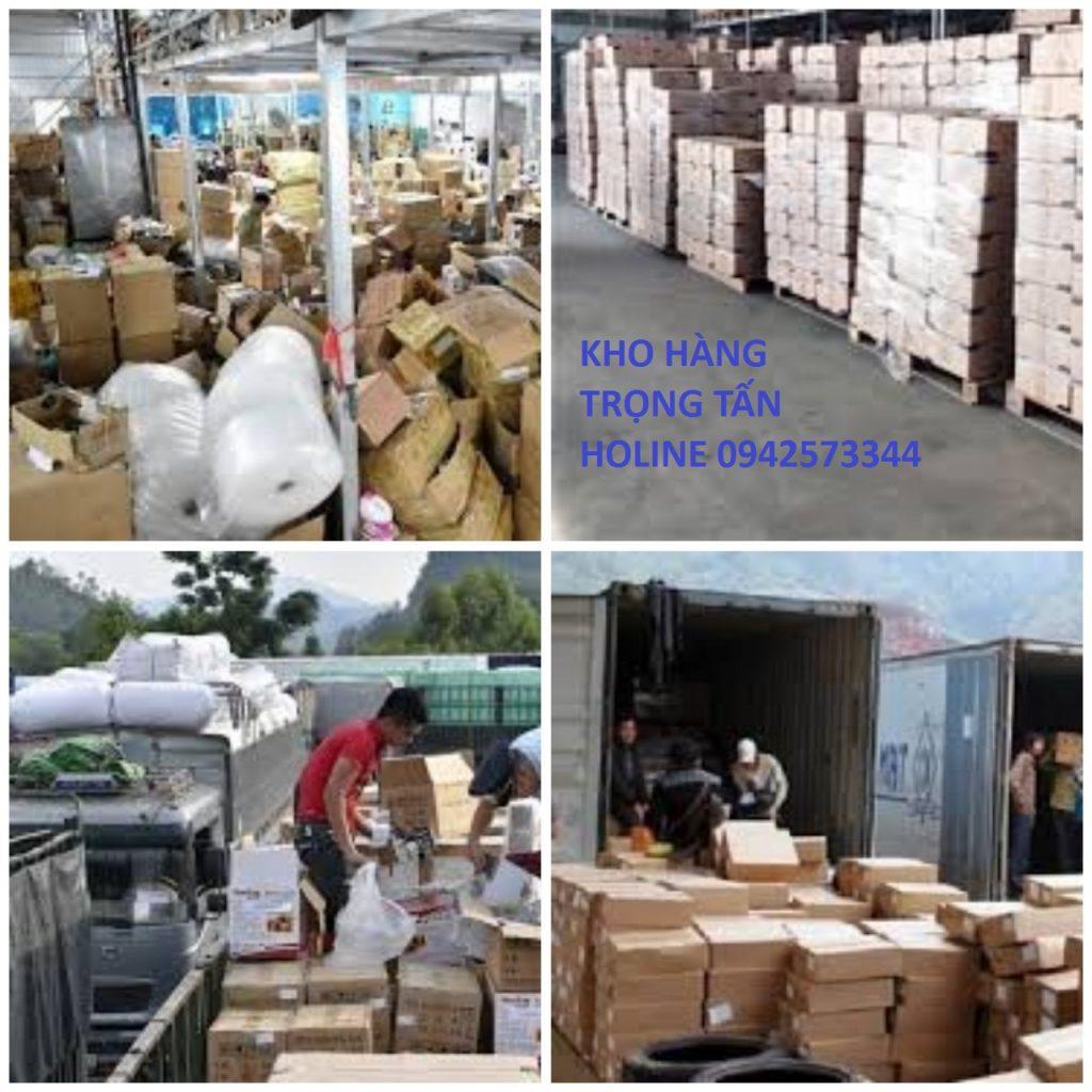 Các loại hàng hóa vận chuyển đi Hà Nội