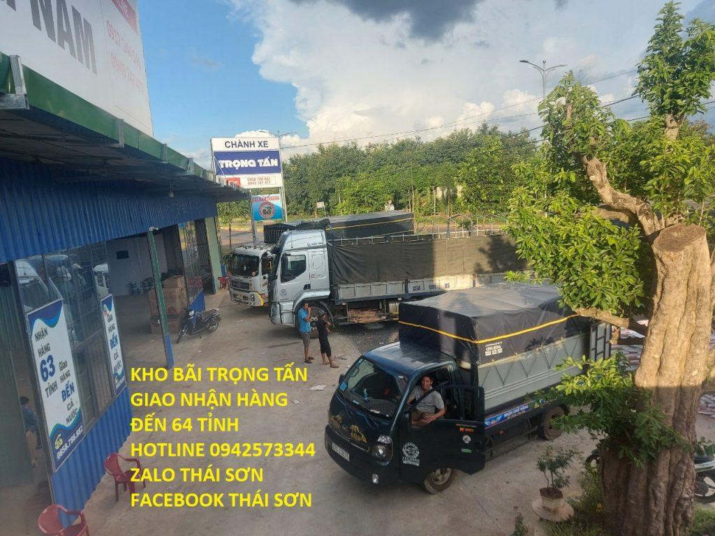 Chành xe Trọng Tấn chuyển hàng đi 63 tỉnh