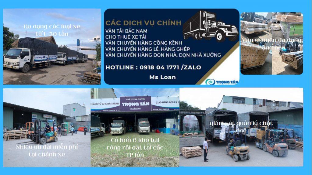 Chành xe cho thuê xe tải mui bạt đi Nghệ An