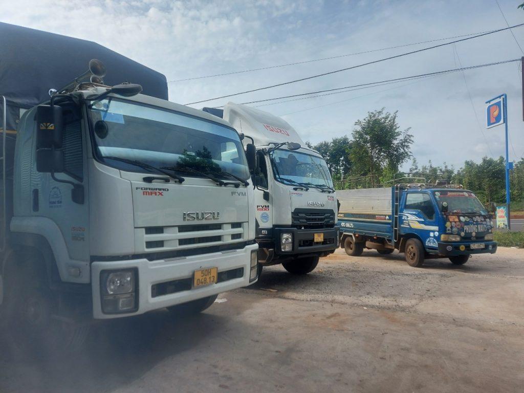 Cho thuê xe tải chở hàng Sài Gòn đi Gia Lai từ 1 tấn đến 15 tấn