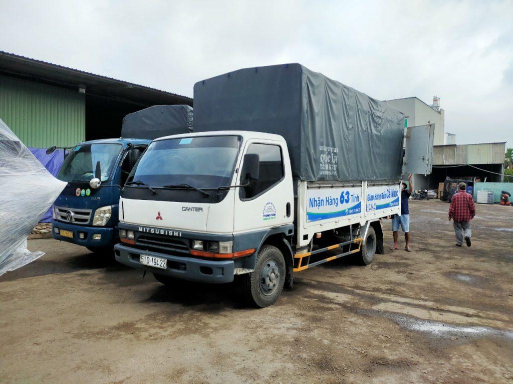 Cho thuê xe tải chuyển hàng Nha Trang đi Đà Nẵng