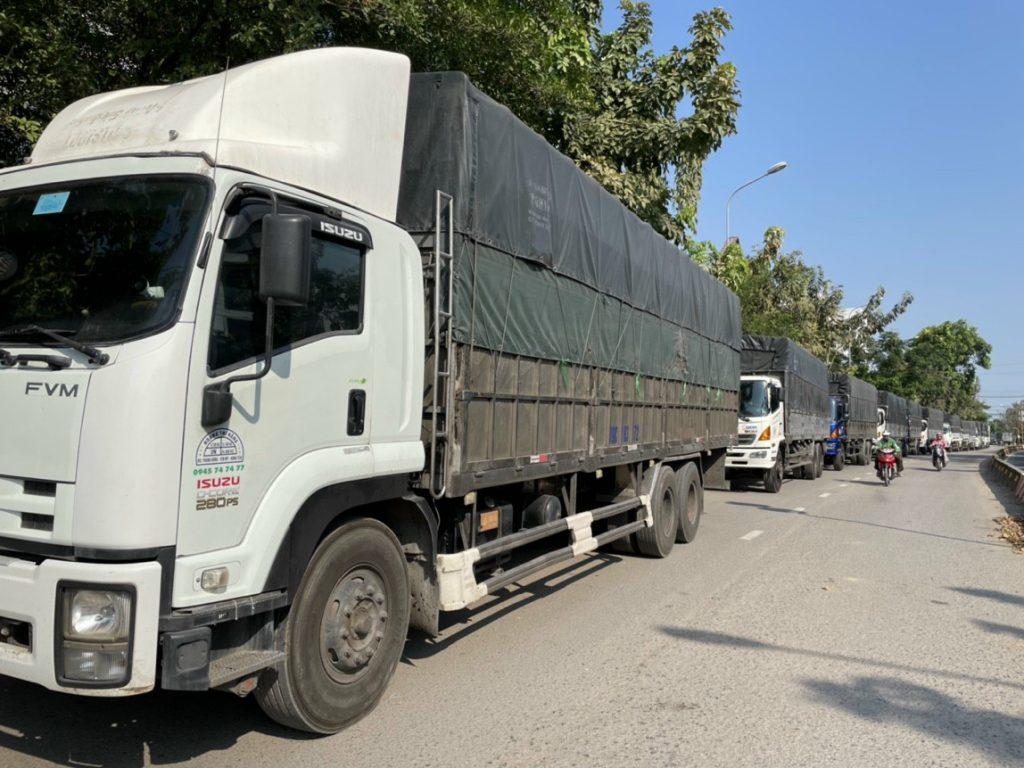 Cho thuê xe tải 15 tấn Bình Dương đi Nha Trang