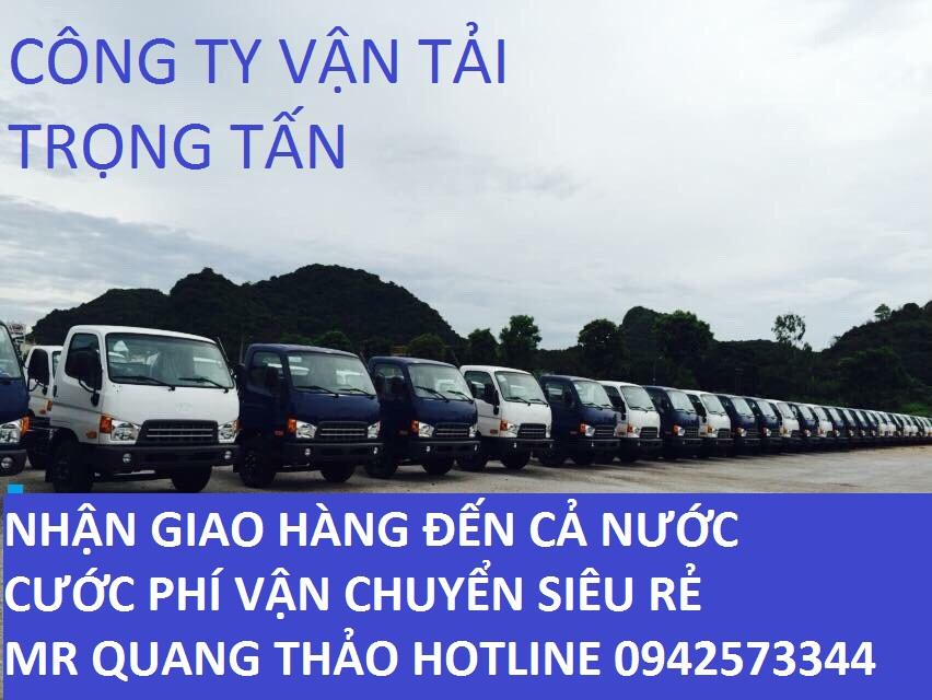 Nhiều loại xe tải vận chuyển hàng Sài Gòn đi Ninh Thuận
