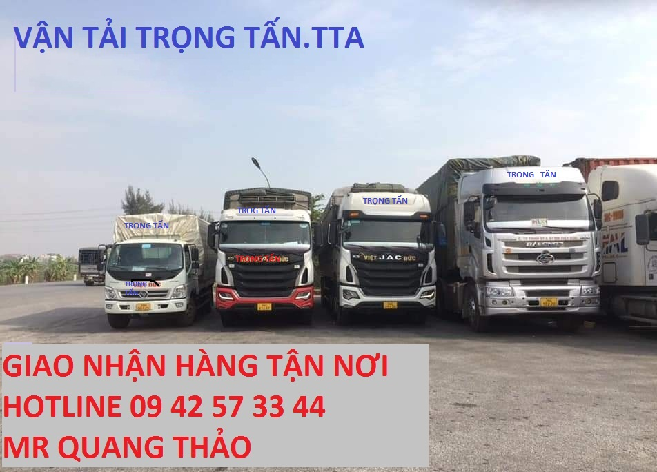 Nhà xe Trọng Tấn vận chuyển hàng Đà Nẵng đi Sài Gòn