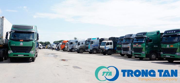 đội xe trọng tấn chuyên vận chuyển hàng hóa 64 tỉnh thành đi nha trang