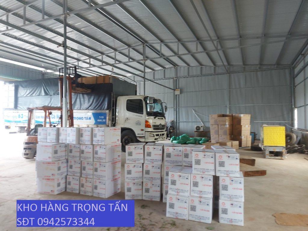 Hàng hóa tại kho Trọng Tấn chuyển hàng Sài Gòn đi Phú Yên