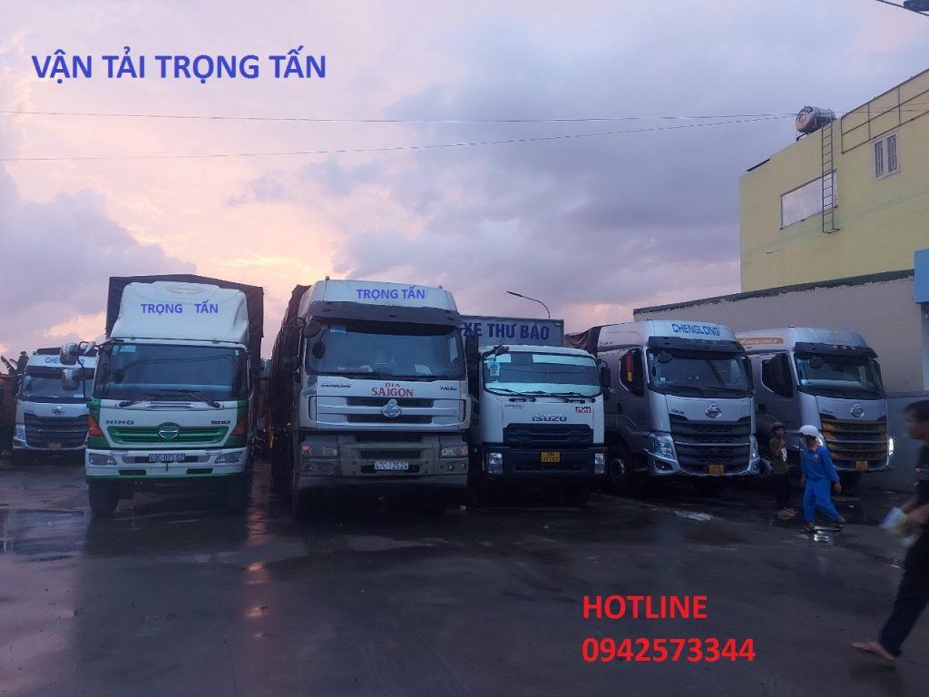 Các loại xe tải chuyển vận chuyển hàng từ Sài Gòn đi Nam Định