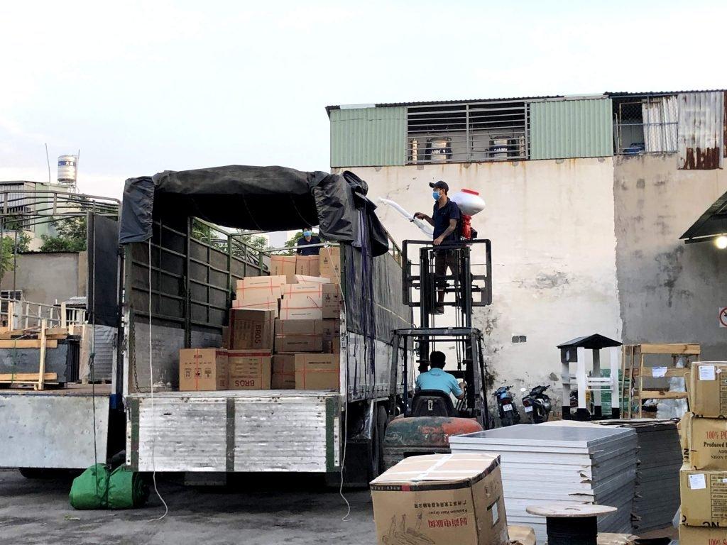 Nhà Xe Nhận Ghép Hàng Tại Đà Nẵng Ra Hà Nội trọng tấn đa dạng các loại hàng hóa