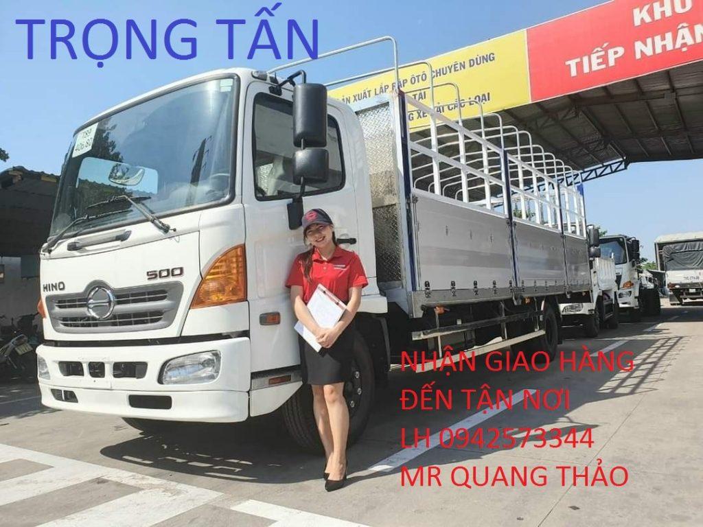 Cho thuê xe chở hàng Sài Gòn đi Hà Nội