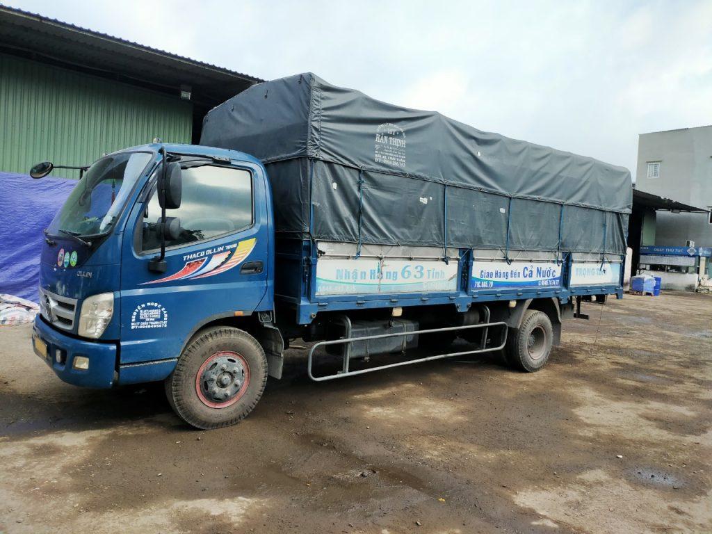Thuê xe 5 tấn Nha Trang đi Long An