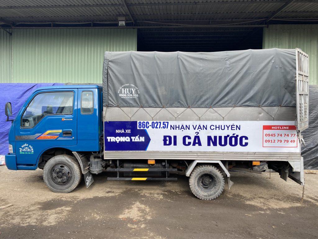 Thuê xe chở hàng Nha Trang đi Long An