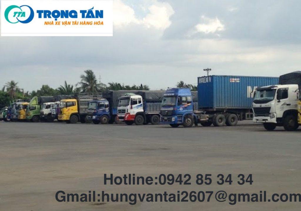 Đội Xe Container xe rơ mooc