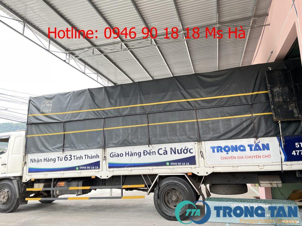 Chành xe đến Nha Trang