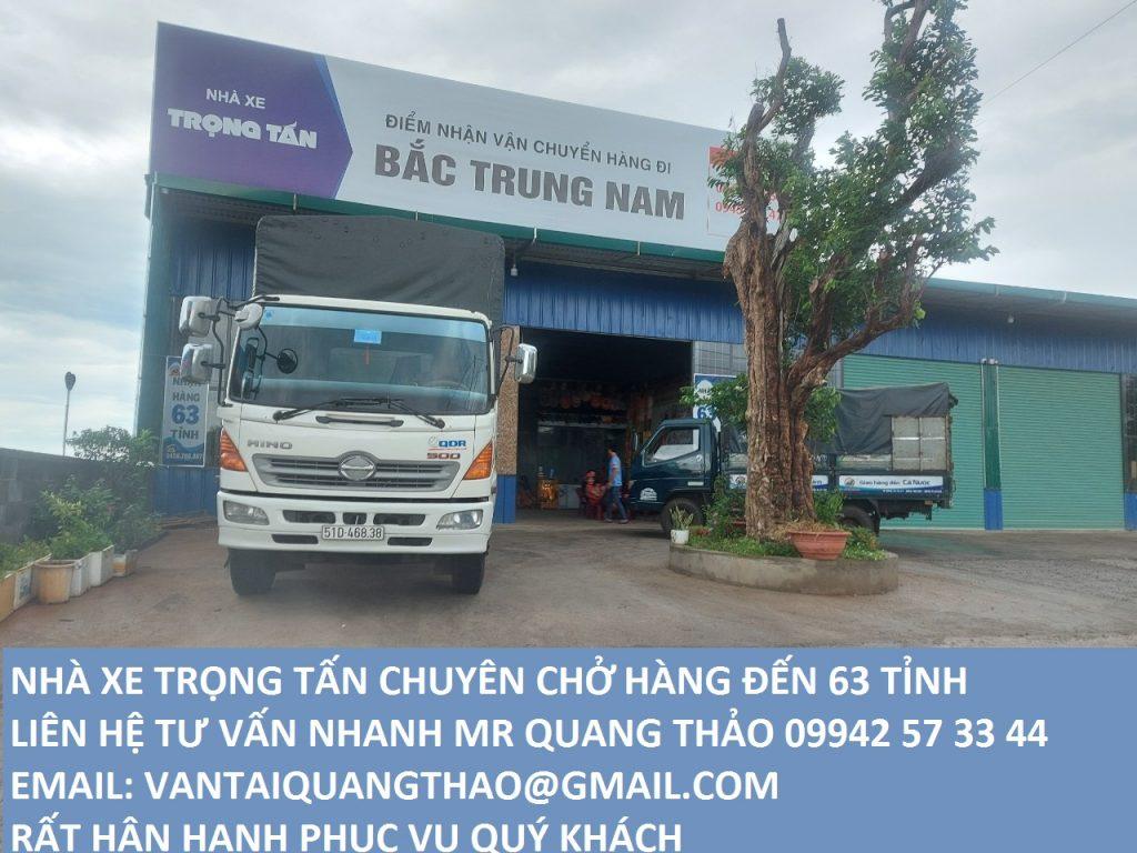 Chành xe Trọng Tấn vận chuyển hàng Sài Gòn đi Kon Tum uy tín nhất