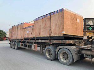 -Vận chuyển hàng nguyên kiện,nguyên khối, nguyên container.