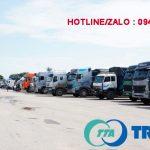 xe tải Chuyển hàng đi Nha Trang Khánh Hoà