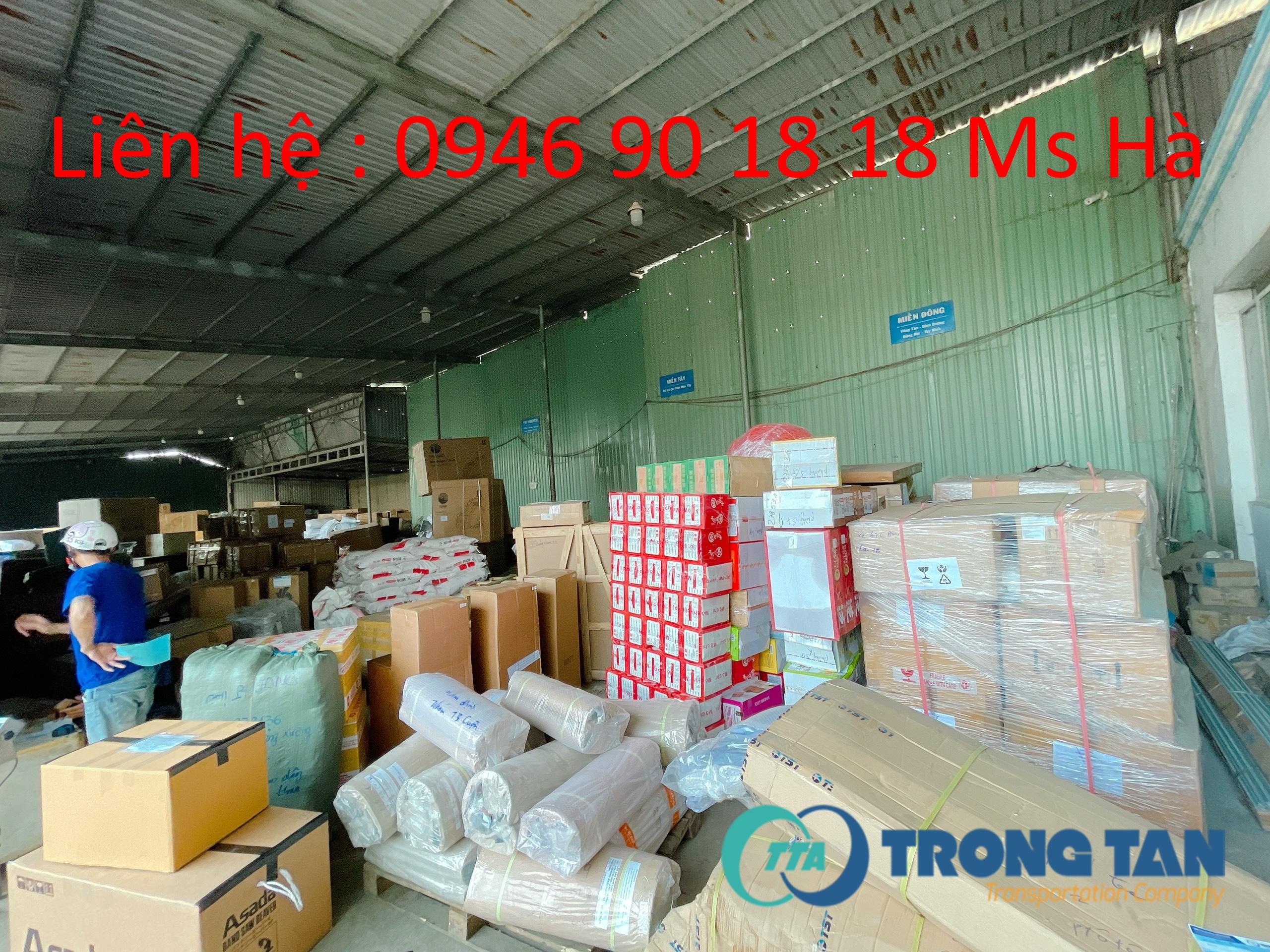 Một số hàng hoá nhẹ của dịch vụ vận tải hàng hoá đi Nha Trang Khánh Hoà