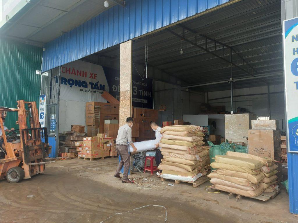 Nhận ký gửi hàng hóa tại kho bãi Trọng Tấn