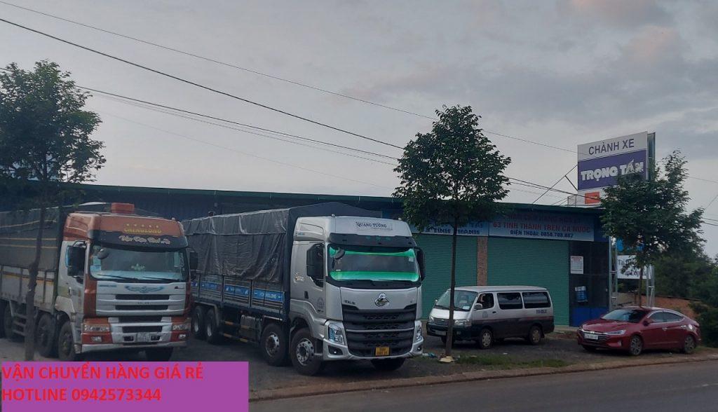 Chành xe Trọng Tấn chuyên nhận chở hàng Đăk Lăk đi Tây Ninh