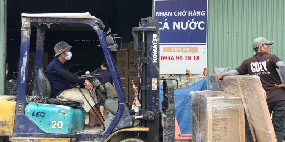 Vận chuyển hàng hóa từ Hà Nội đến Bình Định